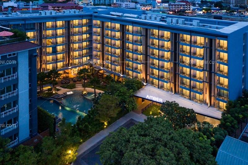 โรงแรม แอมเบอร์ พัทยา ชลบุรี