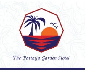 รูปโลโก้ ของ โรงแรม พัทยาการ์เด้น  พัทยาเหนือ ชลบุรี