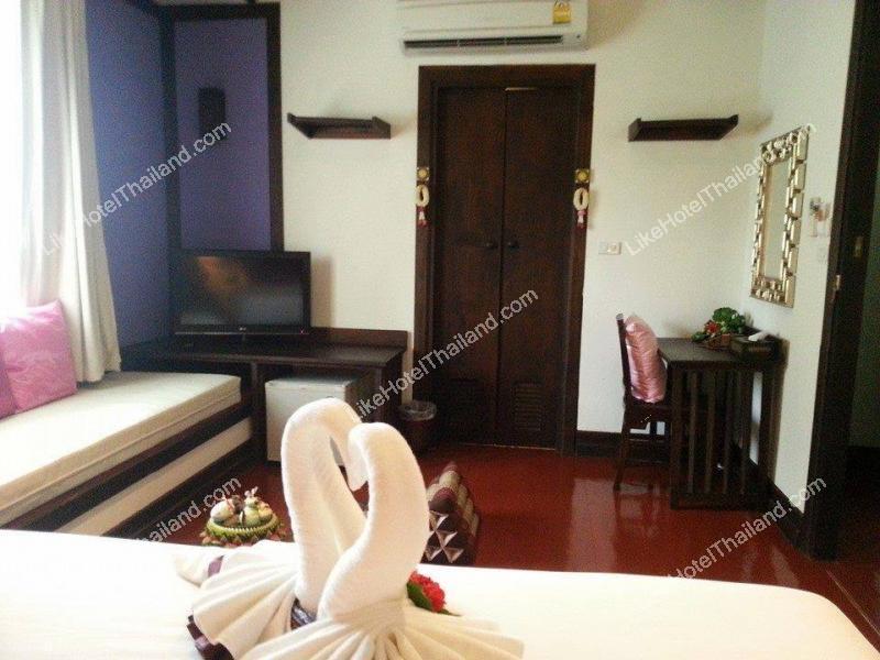 รูปของโรงแรม โรงแรม เดอะ เลเจนด้า สุโขทัย รีสอร์ท {ใกล้อุทยานประวัติศาสตร์ 900 เมตร}