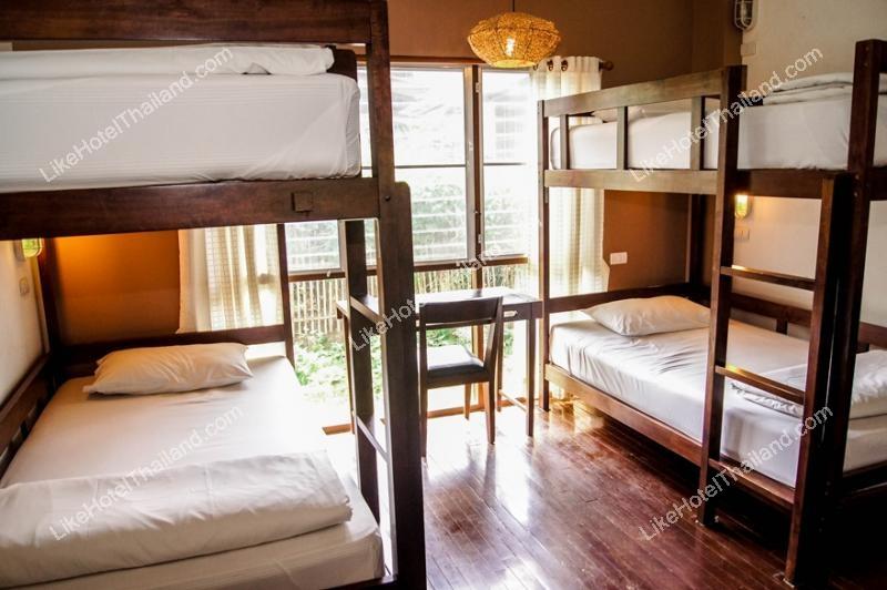 Shared Room เตียง 2 ชั้น ห้องน้ำรวม