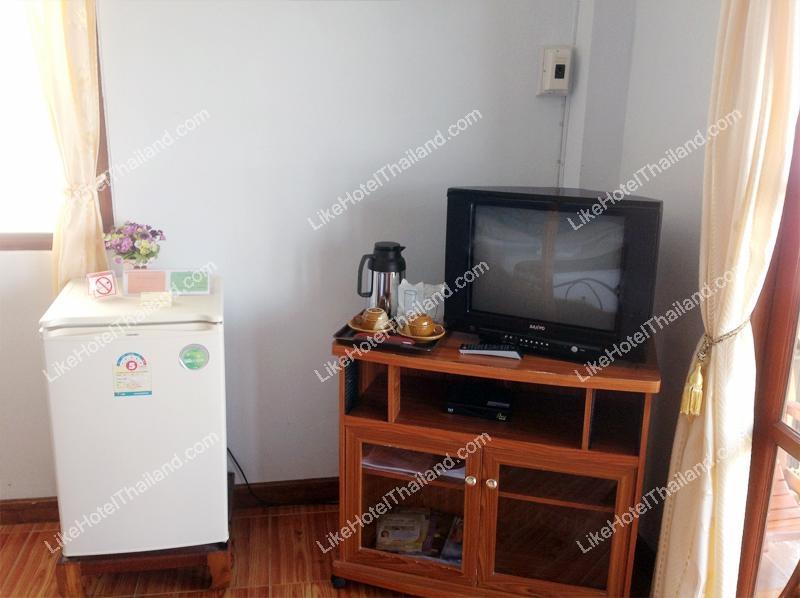 ทีวี ตู้เย็น ของ  ดิ โอลด์ เชียงคาน บูติกโฮเทล