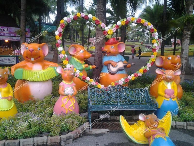 โรงแรม สวนนงนุช พัทยา จังหวัดชลบุรี