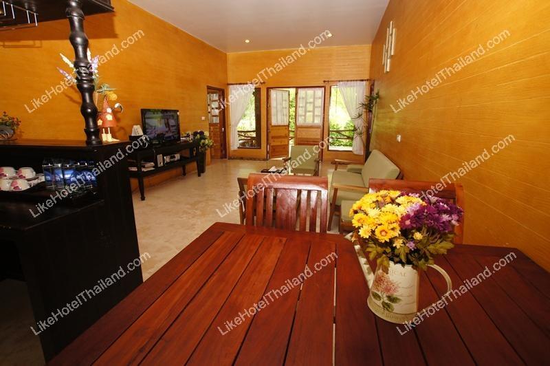 บ้านทรงไทย 2 ห้องนอน (พัก 8 ท่าน)