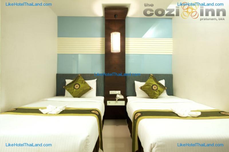 รูปของโรงแรม โรงแรม เดอะ โคซี่ อินน์ ประตูน้ำ กรุงเทพ