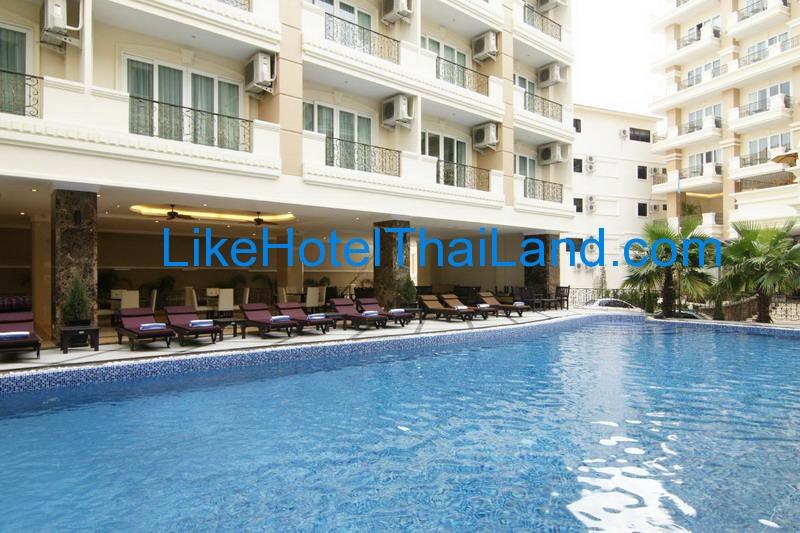 รูปของโรงแรม โรงแรม มิราเคิล สวีท พัทยาใต้ ชลบุรี