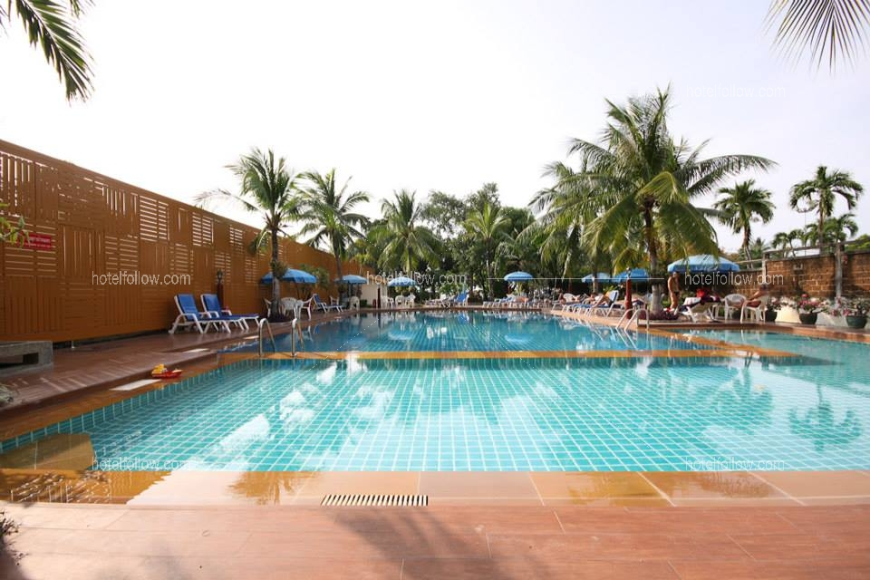 โรงแรม ทวิน ปาล์ม รีสอร์ท พัทยากลาง ชลบุรี