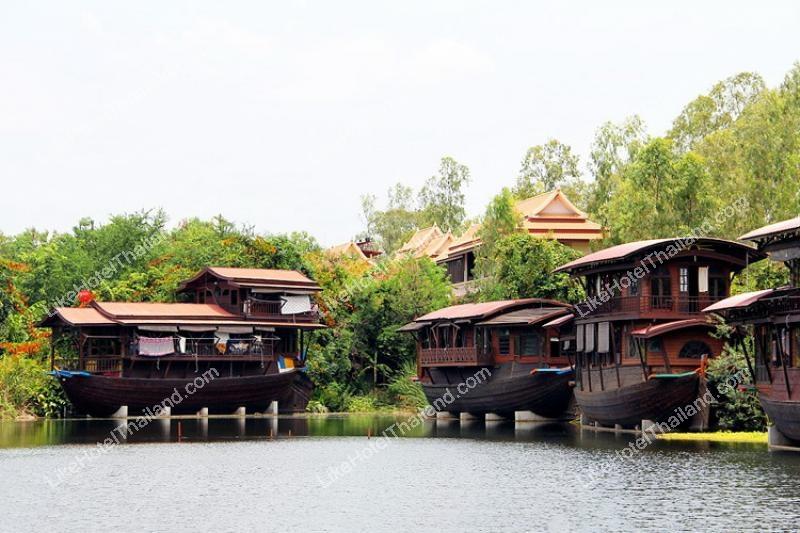 รูปของโรงแรม โรงแรม คุ้มแม่น้ำท่าจีน หม่อมไฉไล นครปฐม