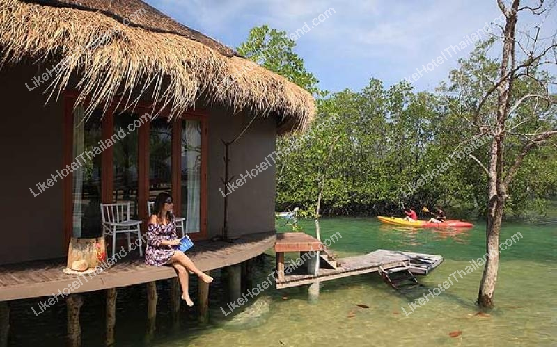 รูปของโรงแรม โรงแรม เดอะบลูสกายรีสอร์ท @ เกาะพยาม ระนอง