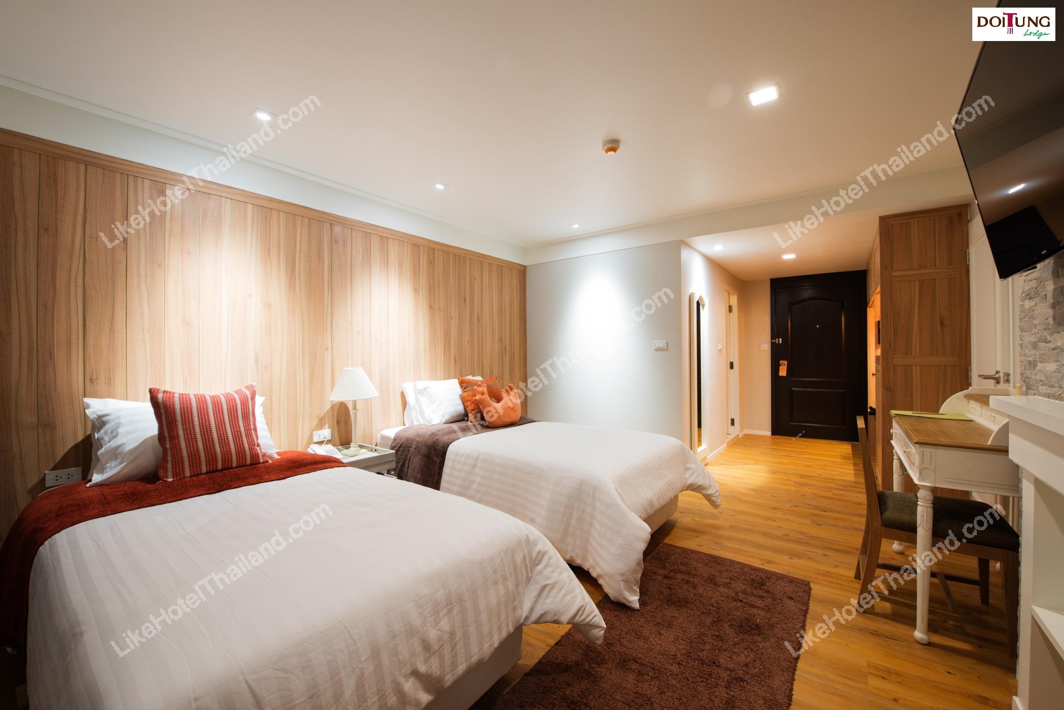 รูปของโรงแรม โรงแรม บ้านต้นน้ำ 31 (ดอยตุง ลอด์จ) เชียงราย