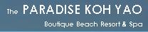 รูปโลโก้ ของ โรงแรม เดอะ พาราไดซ์ เกาะยาว รีสอร์ท บูติค บีช รีสอร์ท แอนด์ สปา