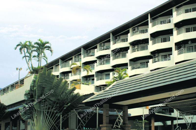 โรงแรม จอมเทียนพลาซ่าเรสสิเดนส์ หาดจอมเทียน ชลบุรี