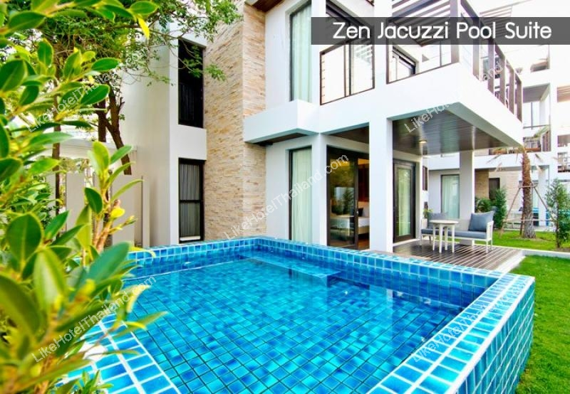 ZEN JACUZZI POOL SUITE