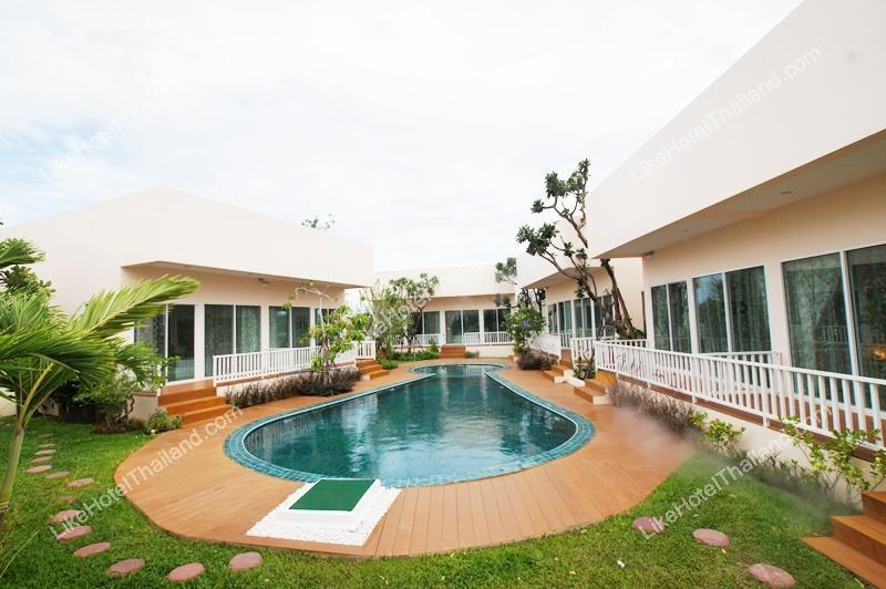 โรงแรม กบาลถมอ รีสอร์ท หัวหิน ( สระว่ายน้ำ อยู่หน้าบ้าน หน้าห้องทุกห้อง )