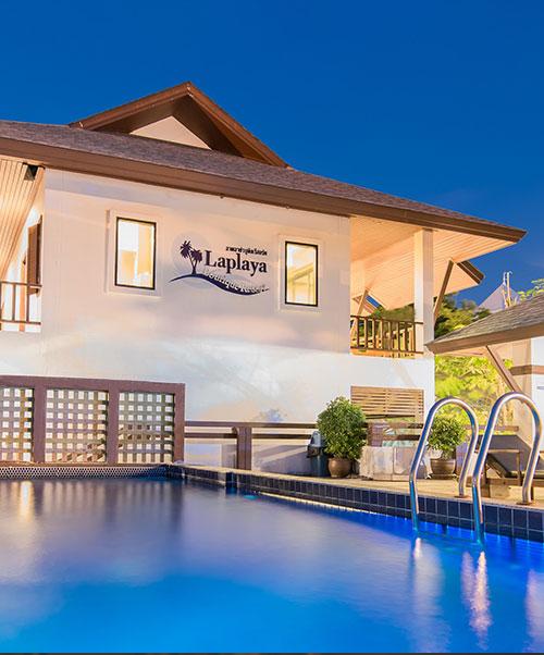 โรงแรม ลาพลาย่า บูติค รีสอร์ท บางแสน ชลบุรี