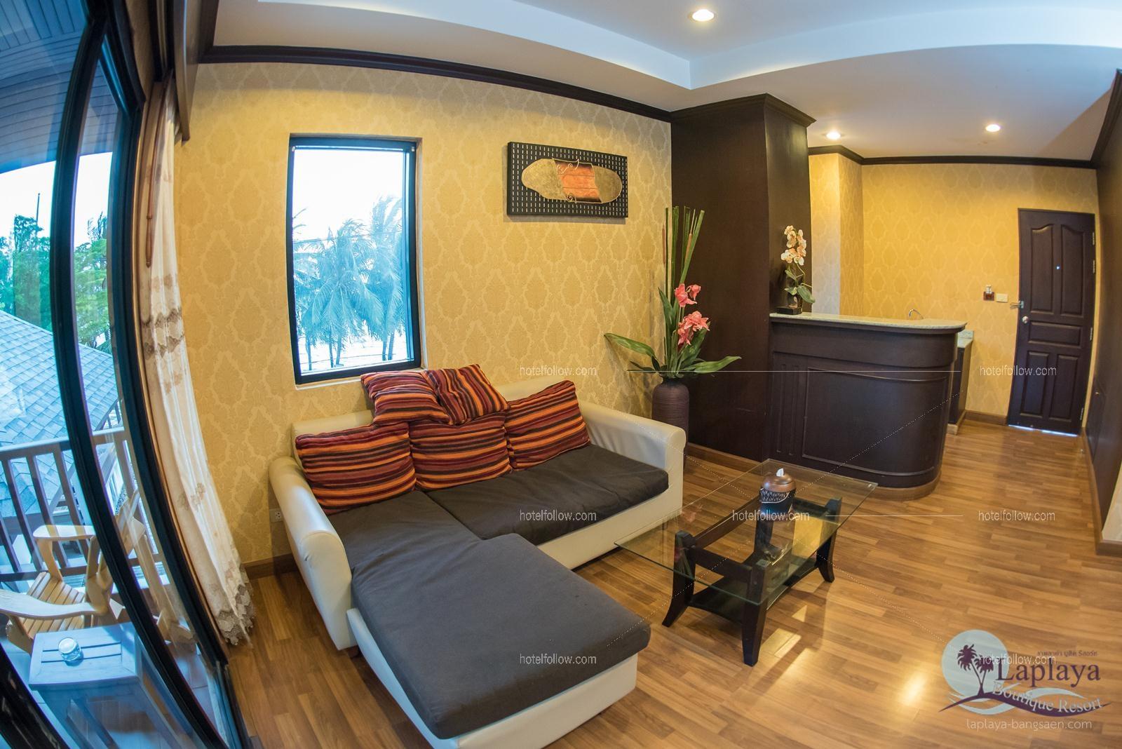 รูปของโรงแรม โรงแรม ลาพลาย่า บูติค รีสอร์ท บางแสน ชลบุรี