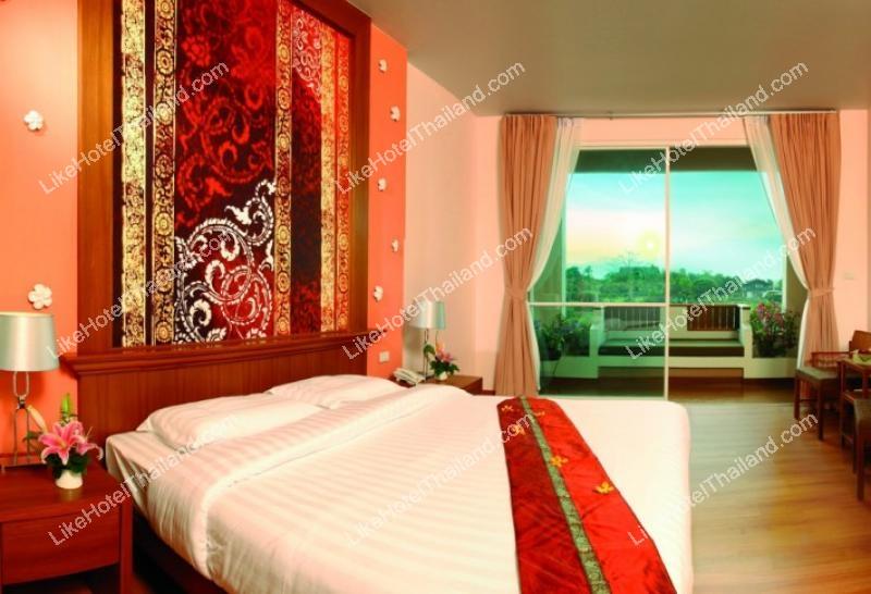 รูปของโรงแรม โรงแรม บ้านสวนเฟื่องฟ้า ริเวอร์ไซด์ การ์เด้นท์ รีสอร์ท